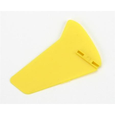 E-Flite Vertical Fin, Yellow w/o Decals: Blade mCX