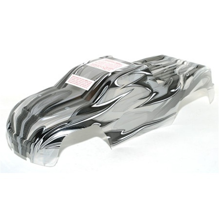 Traxxas ProGraphix Body, Clear, with Decal: 4908 T-Maxx 3.3