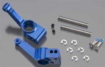 Traxxas Carriers, Stub Axle, Rear, Blue (2): Slash 4x4