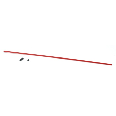 DuBro Antenna Tube with Cap (Red)