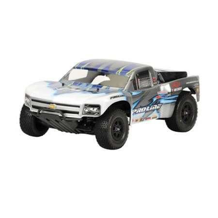 Pro-Line 09' Chevy Silverado 1500 Clear Body for the Slash and SC10