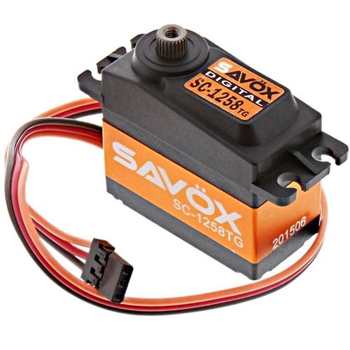 Savox SC-1258TG Digital High Speed Titanium Gear Servo