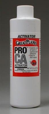 Great Planes Pro CA Foam Safe Activator 8oz Refill