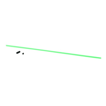 DuBro Antenna Tube with Cap (Neon Green)
