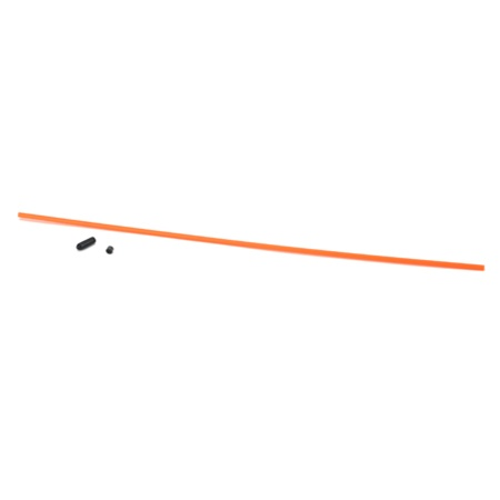 DuBro Antenna Tube with Cap (Neon Orange)