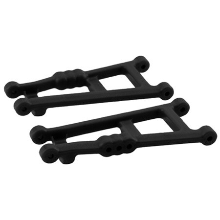 RPM Rear A-Arms (Black) for Rustler, Stampede