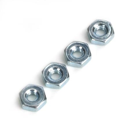 DuBro Steel Hex Nuts, 4-40