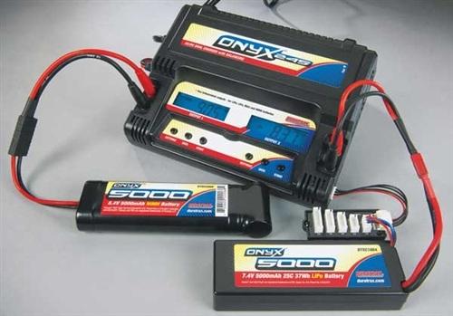 Duratrax Onyx 245 AC/DC Dual Charger for LiPo, LiFe, NiCd, NiMH