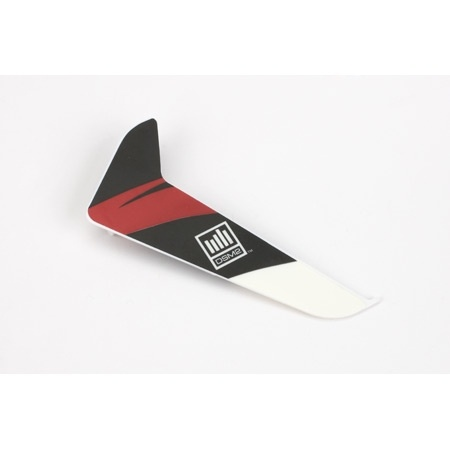 Blade Vertical Fin with Red Decal: 120SR