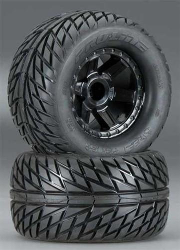 Pro-Line Street Fighter 2.8 Tires on Desperado Wheels: Stampede & Rustler