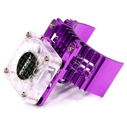 Integy Motor Heatsink Fan (Purple) for Slash, Stampede, Rustler, & Bandit