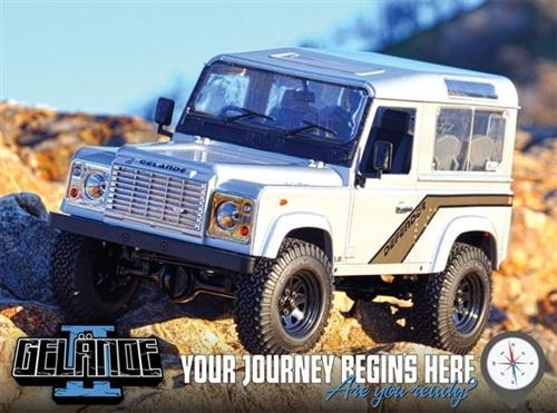RC4WD Gelande II Truck Kit w/Defender D90 Body Set