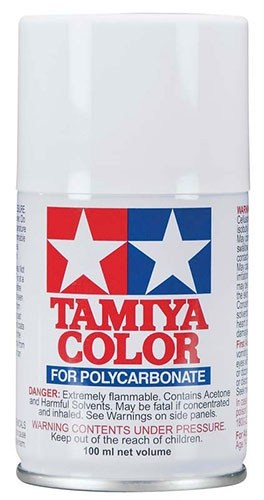 Tamiya Polycarbonate RC Body Spray Paint (3 oz): White