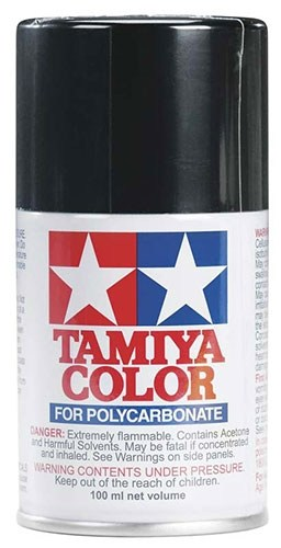 Tamiya Polycarbonate RC Body Spray Paint (3 oz): Black