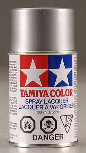 Tamiya Polycarbonate RC Body Spray Paint (3 oz): Silver