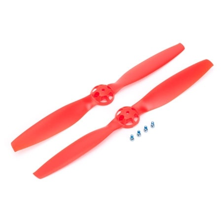 Blade 350 QX Red Props (CW & CCW Rotation)