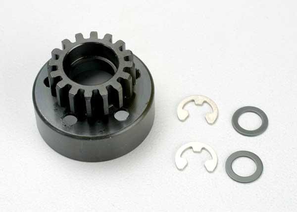 16T Revo Clutch Bell w/Fiber Washer/E-Clip (2)