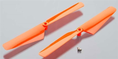 LaTrax Alias Rotor Blade Set (Orange)