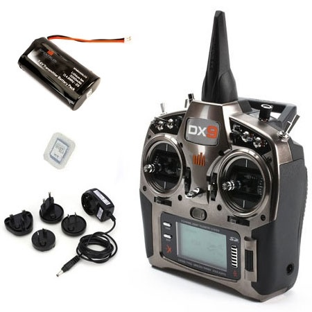 Spektrum DX9 2.4GHz DSMX Air & Heli Transmitter