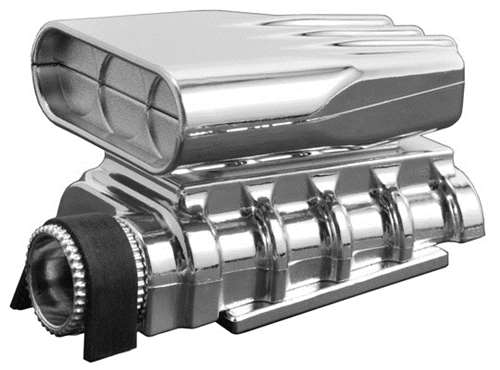 RPM Chrome Mock Intake and Supercharger Blower Set