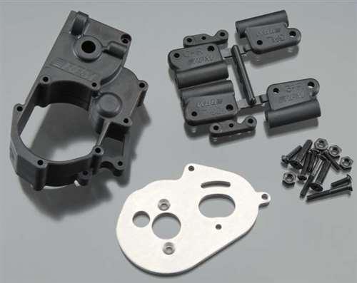 RPM Black Gearbox & Rear Mounts for Traxxas Slash 2WD, Stampede 2WD, Rustler, Bandit