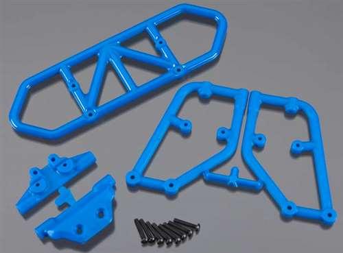 RPM Blue Rear Bumper for Traxxas Slash 4x4
