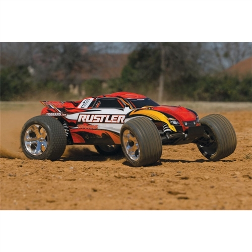 Traxxas Rustler XL-5 RTR RC Truck w/ID Battery & Quick Charger (37054-1)