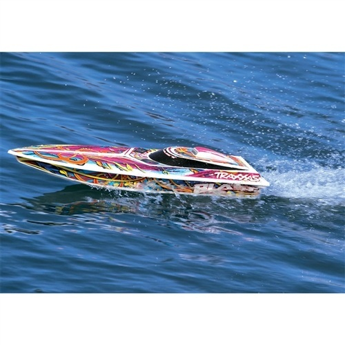 Traxxas Blast Electric RC Boat w/ID Battery & Quick Charger