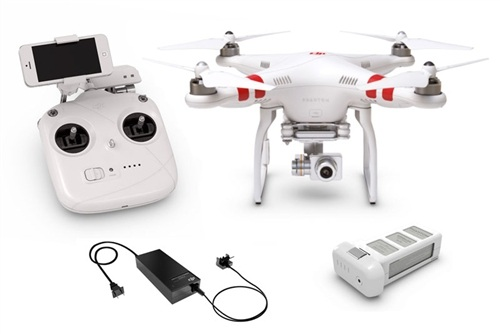 DJI Phantom 2 Vision PLUS V3 Quad Copter Drone Package