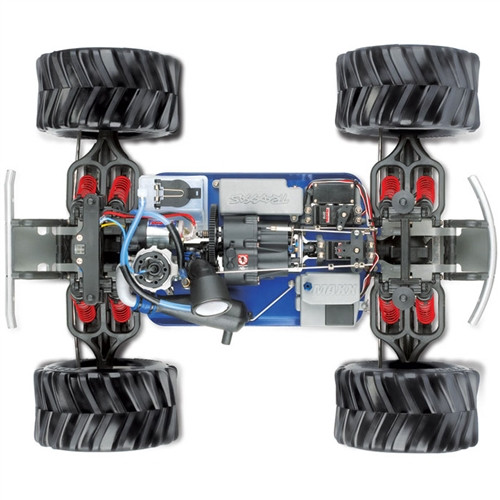 Traxxas T-Maxx 2.5 4WD Nitro RTR Monster Truck w/TQ 2.4GHz