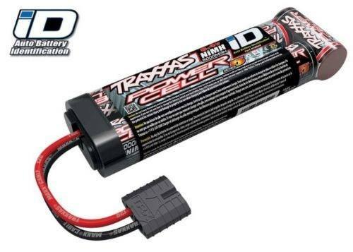 Traxxas 5000mAh 8.4V 7-Cell Flat NiMH Battery Pack w/iD Connector