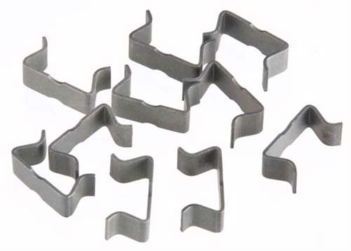 AFX HO Slot Car Track Clips (10-pack)