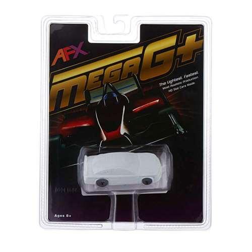 AFX Chevy SS Stocker - White Paintable Mega G+ Slot Car