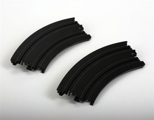 "AFX Curve 12"" Radius 1/8 Circle HO Slot Car Track Sections (2)"
