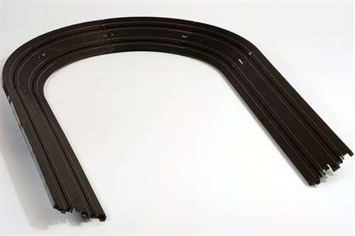 "AFX Banked Curve 9"" Radius HO Slot Car Track Sections"