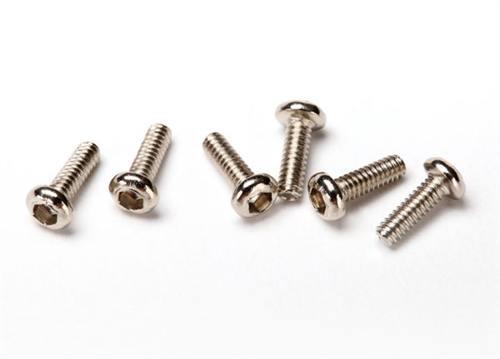 LaTrax Alias 1.6x5mm Machine Screws (6)