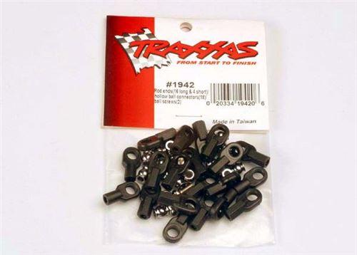 Traxxas Rod Ends w/Hollow Balls & Screws