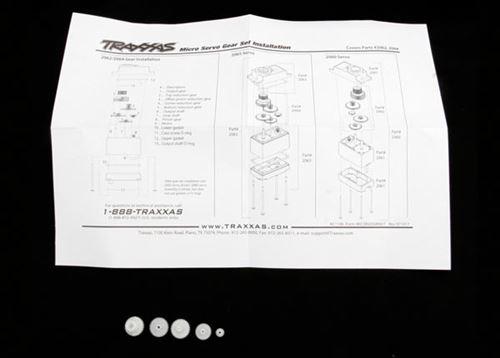 Traxxas 2064 Gear Set for 2065 Waterproof Sub-Micro Servo