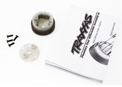 Traxxas 2381X Main Diff with Steel Ring Gear & Hardware