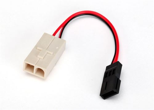 Traxxas Molex/Tamiya to Receiver Pack Charging Adapter
