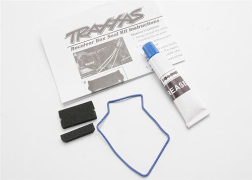 Traxxas Waterproof Receiver Box Seal Kit (includes o-ring, seals, and silicone grease)