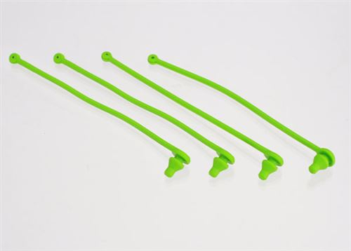 Traxxas Green Body Clip Retainers (4)