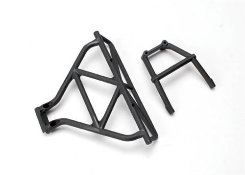 Traxxas Bumper, rear/ brace, rear