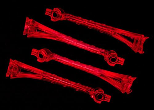 Traxxas LED lens, red (4)