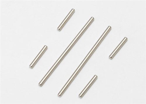 Traxxas Suspension pin set (front or rear), 2x46mm (2), 2x14mm (4)