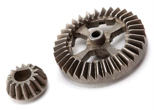 Traxxas Ring gear, differential/ pinion gear, differential (metal)