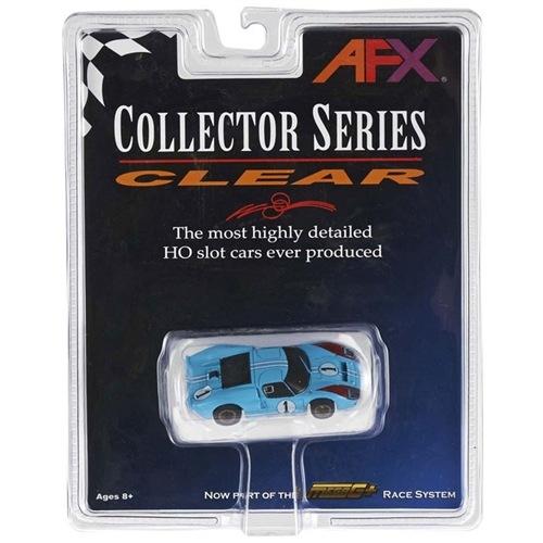 AFX GT40 #1 Miles Collector Series Mega G+ HO Slot Car