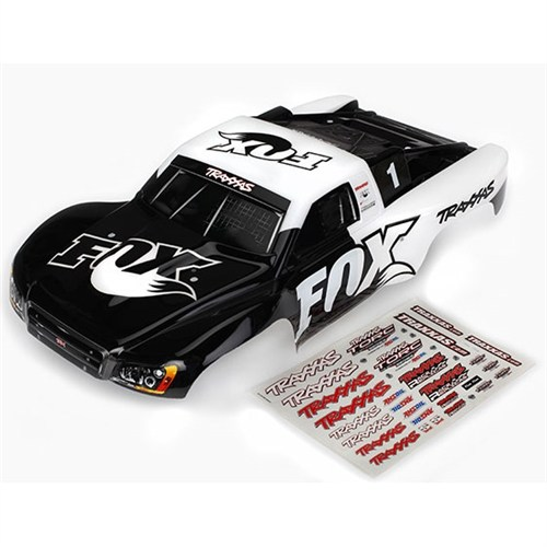 Traxxas Slash 2WD & 4x4 FOX Racing Painted Body
