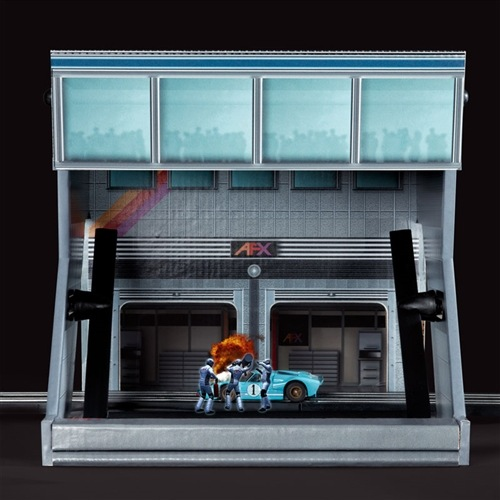 AFX Pit Stop Holographic Theater