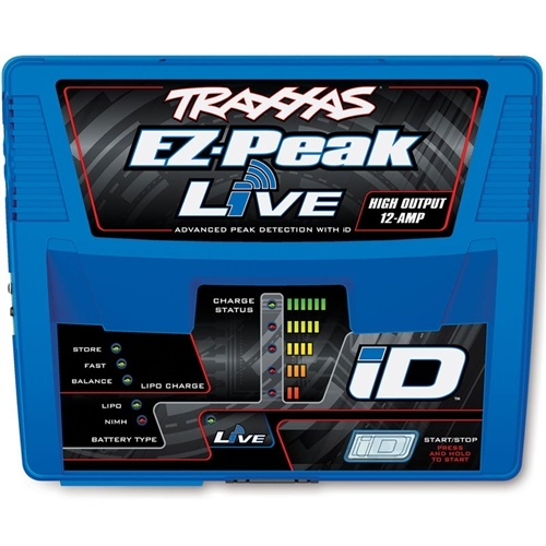 Traxxas X-Maxx 8S Dual 4S Battery & EZ-Peak Live ID Charger Combo